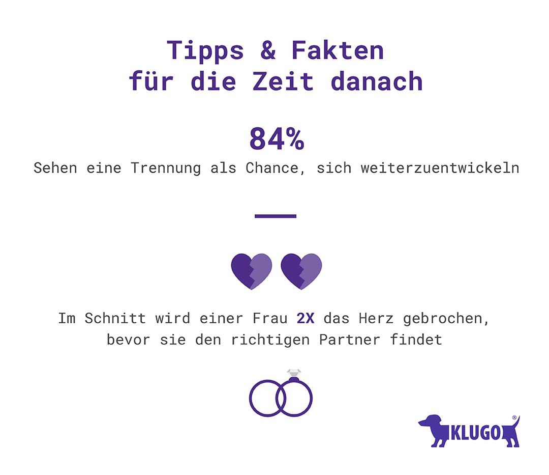 Tipps nach der Trennung – Infografik