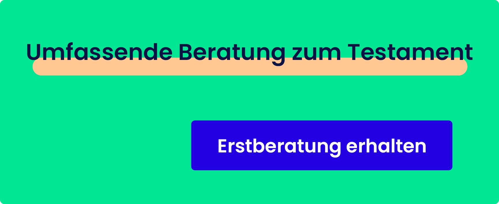 Berliner Testament – Erstberatung