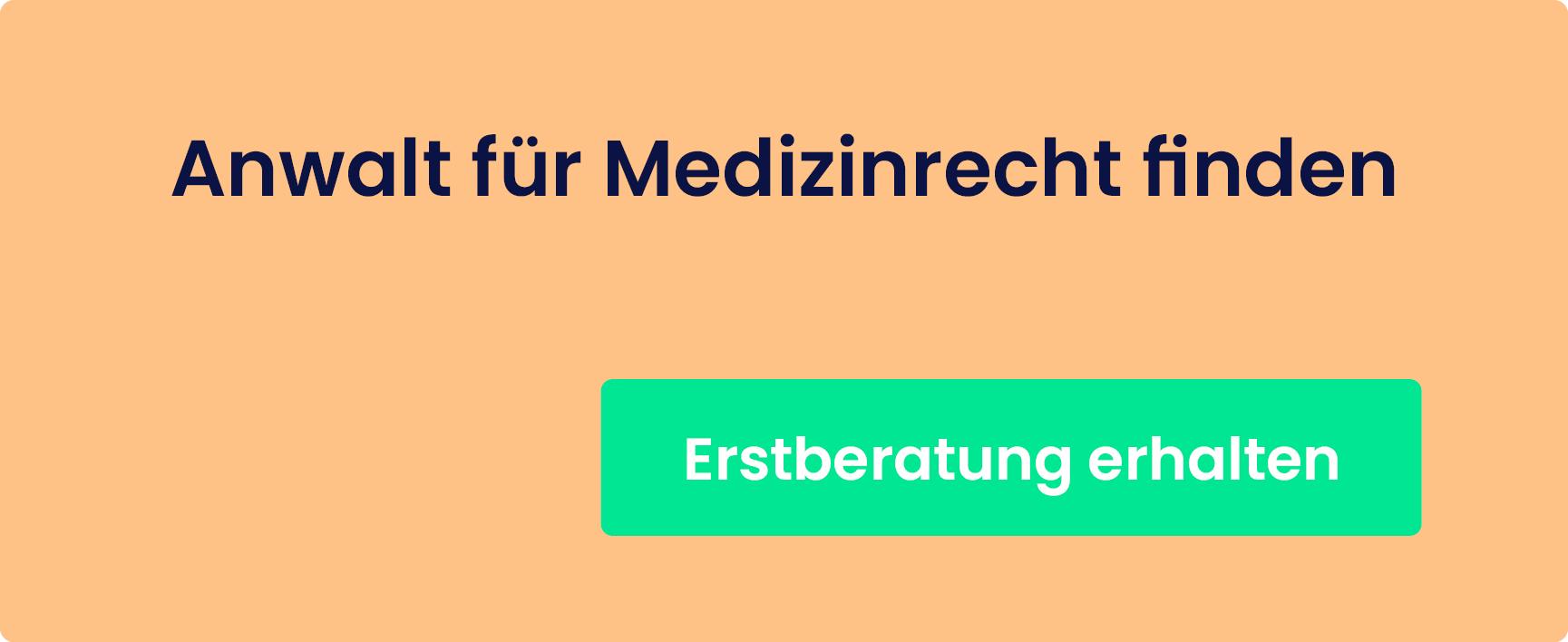 Medizinrechrt – Erstberatung