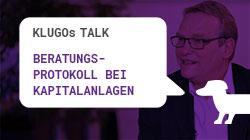 Beratungsprotokoll | KLUGOs Talk